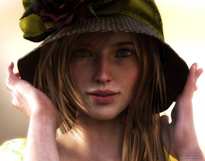 girl daz3d models by allegra