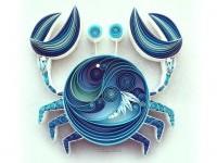 15-crab-quilling-art