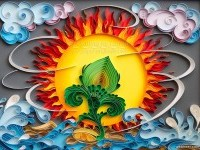 3-sun-sea-quilling-art-by-larisa