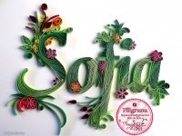 4-typography-design-quilling-art-by-filigranaenchile