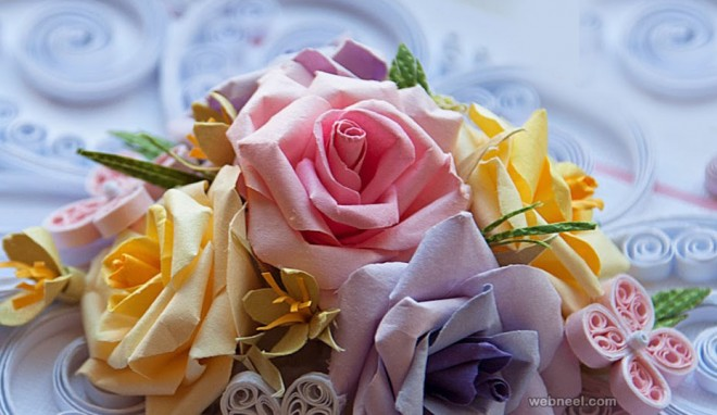 quilling roses