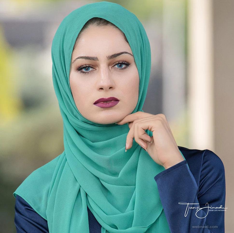 beautiful woman muslim
