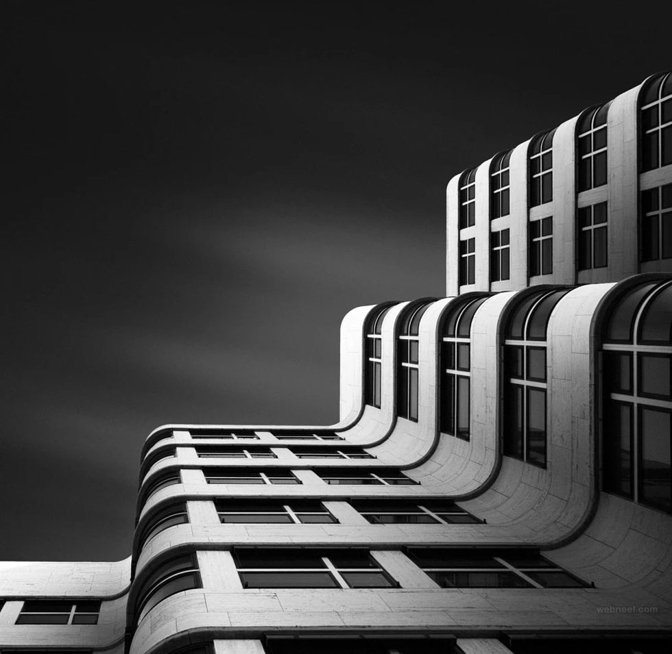 Black and white photography abstract berlin