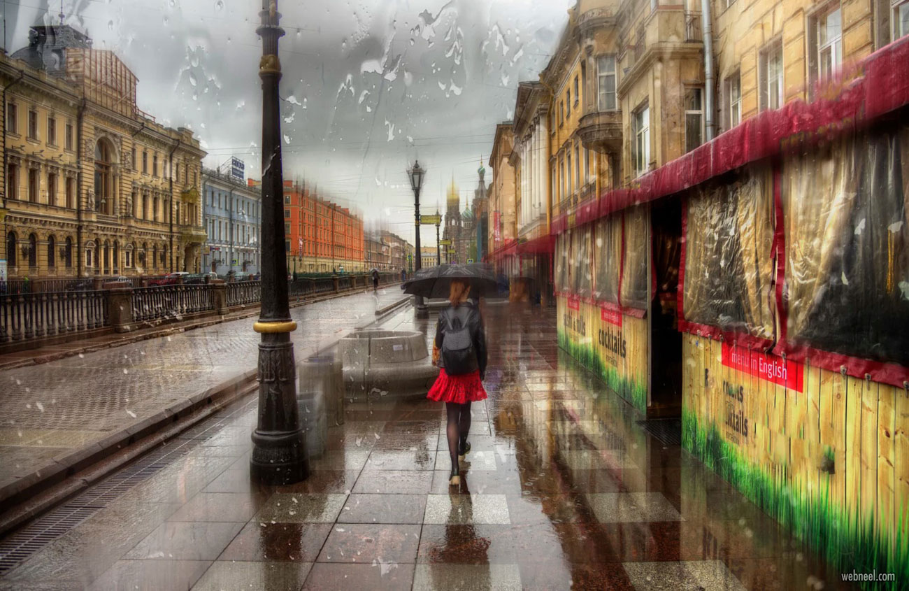 rain photography by ed gordeev