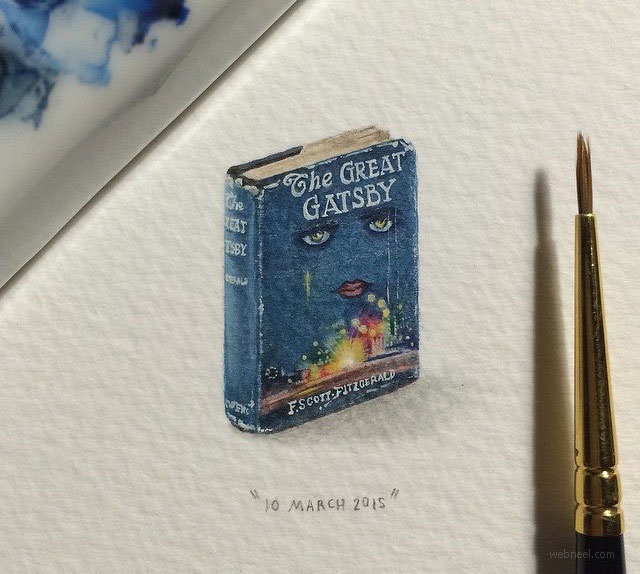 miniature painting artwork book