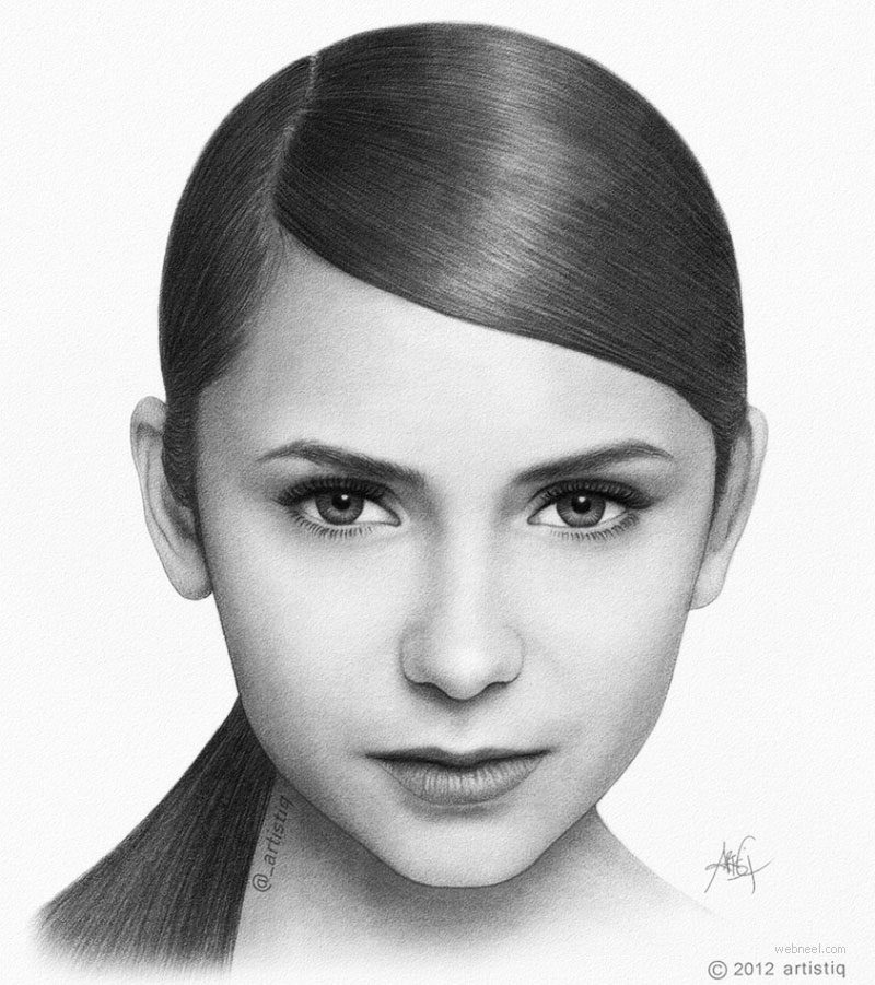 pencil drawing celebrity
