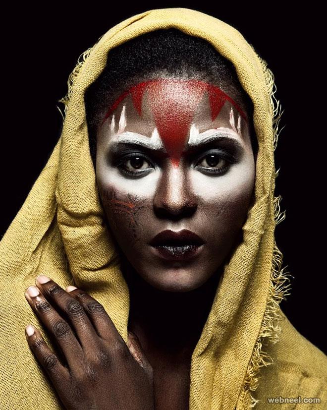 beautiful woman african