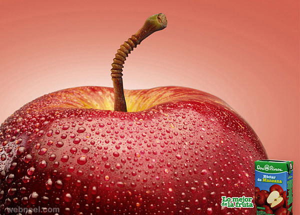 creative ads juice
