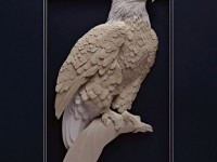 10-paper-sculpture-eagle-by-calvin-nicholls