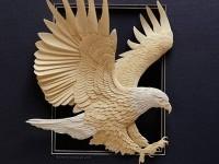 11-paper-sculpture-eagle-by-calvin-nicholls
