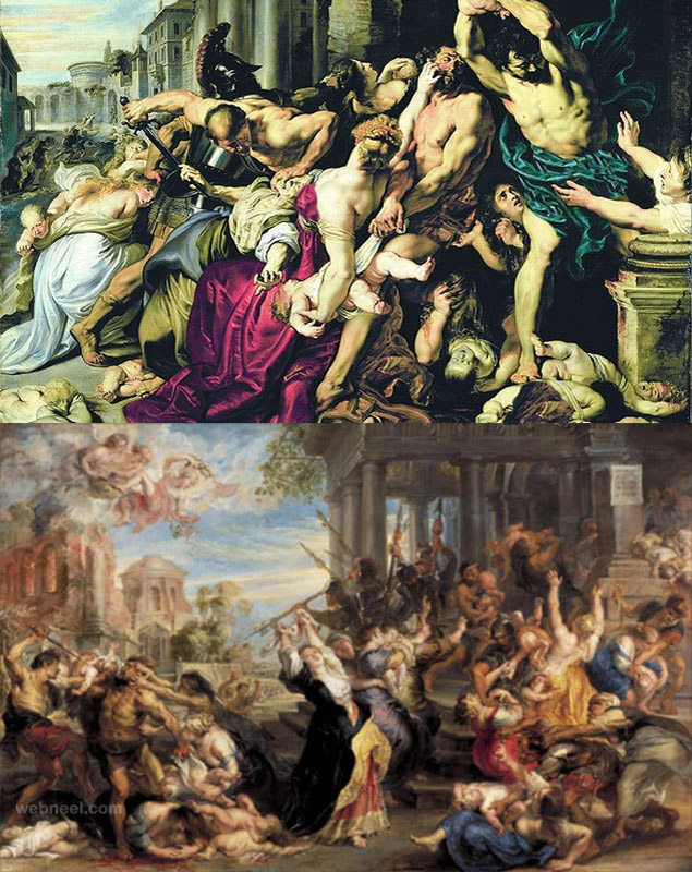 most expensive painting massacre innocents