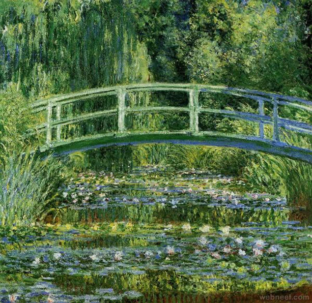 most expensive painting water lilly pond