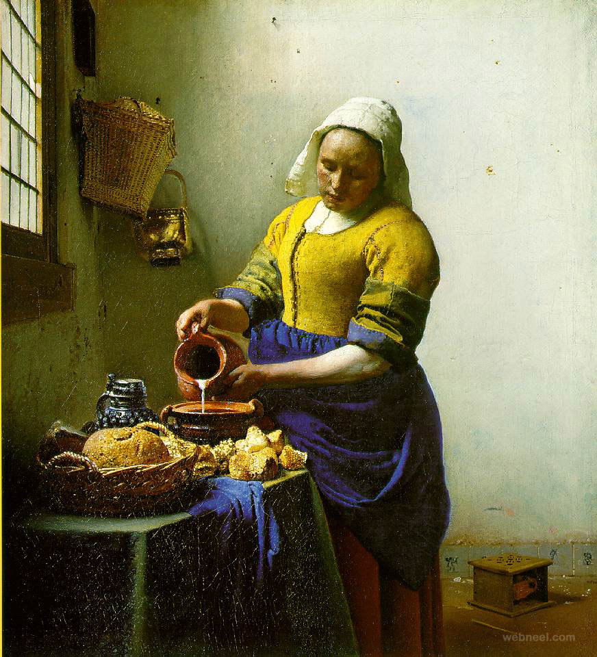 vermeer the milkmaid