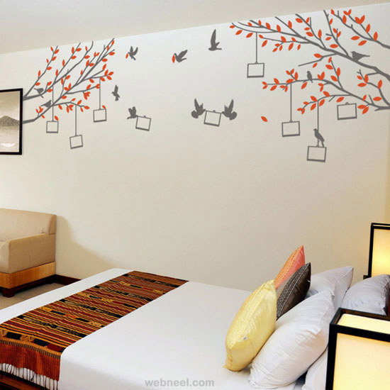 Diy Wall Art Bed Room With Family Photos ...