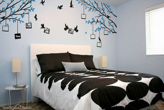 Wall Art For Bedroom 30 beautiful wall art ideas and diy wall paintings for your