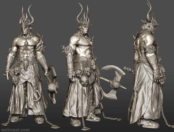 Character Design Maya : Stunning maya d models and character designs for your