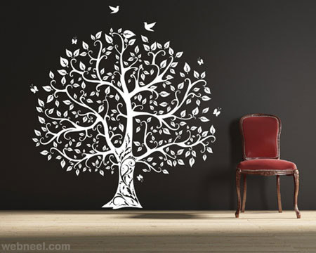 tree wall painting tree wall painting - Painting On Walls