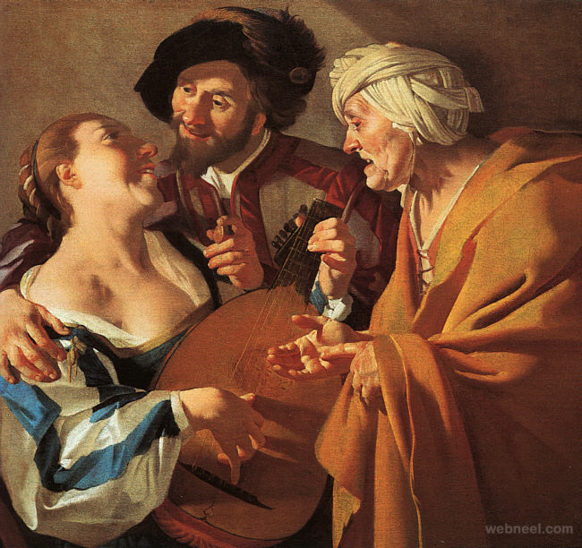 vermeer the procuress paintings