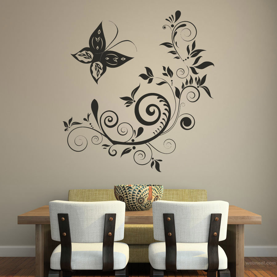 Great Wall Art Ideas Floral Design Wall Art Floral