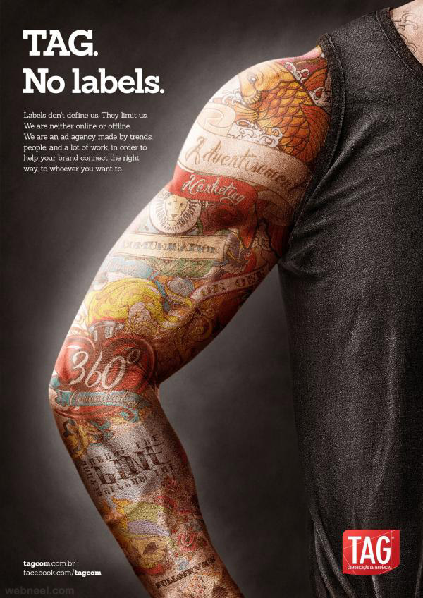 creative ads tattoo