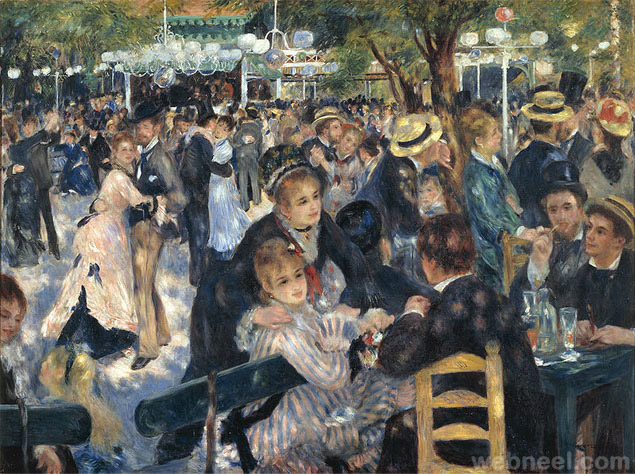 most expensive painting dance moulin galette