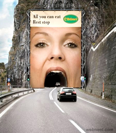 creative ads restaurant