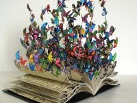 book-art-butterfly