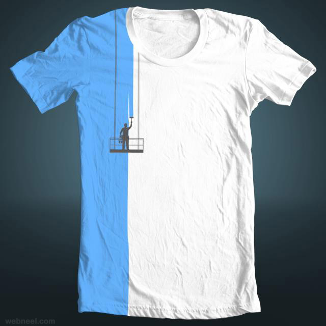 Creative tshirt design for Website where you can design your own shirt
