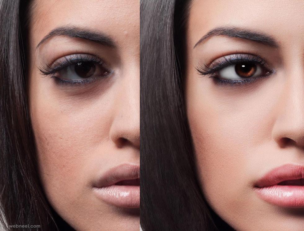 eyes photo retouching by phowd