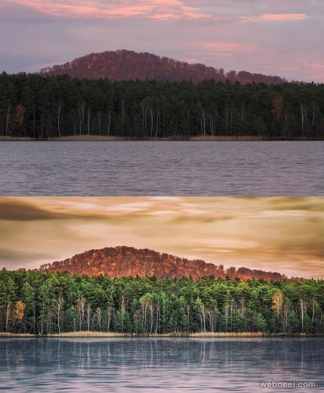 scenary photo retouching by phowd