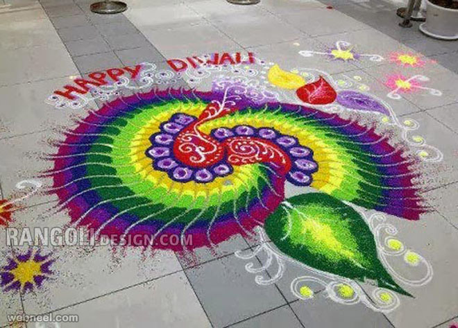 easy rangoli designs diwali