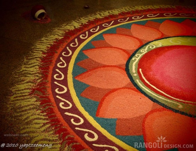 rangoli patterns diwali