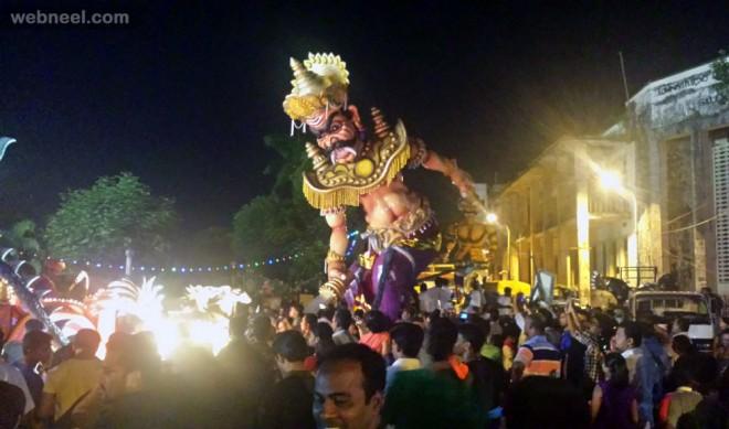 diwali narakasura demon goa festival