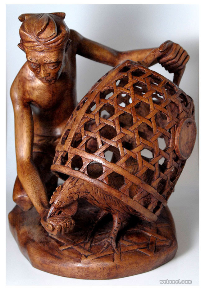 wood carving by balicarving