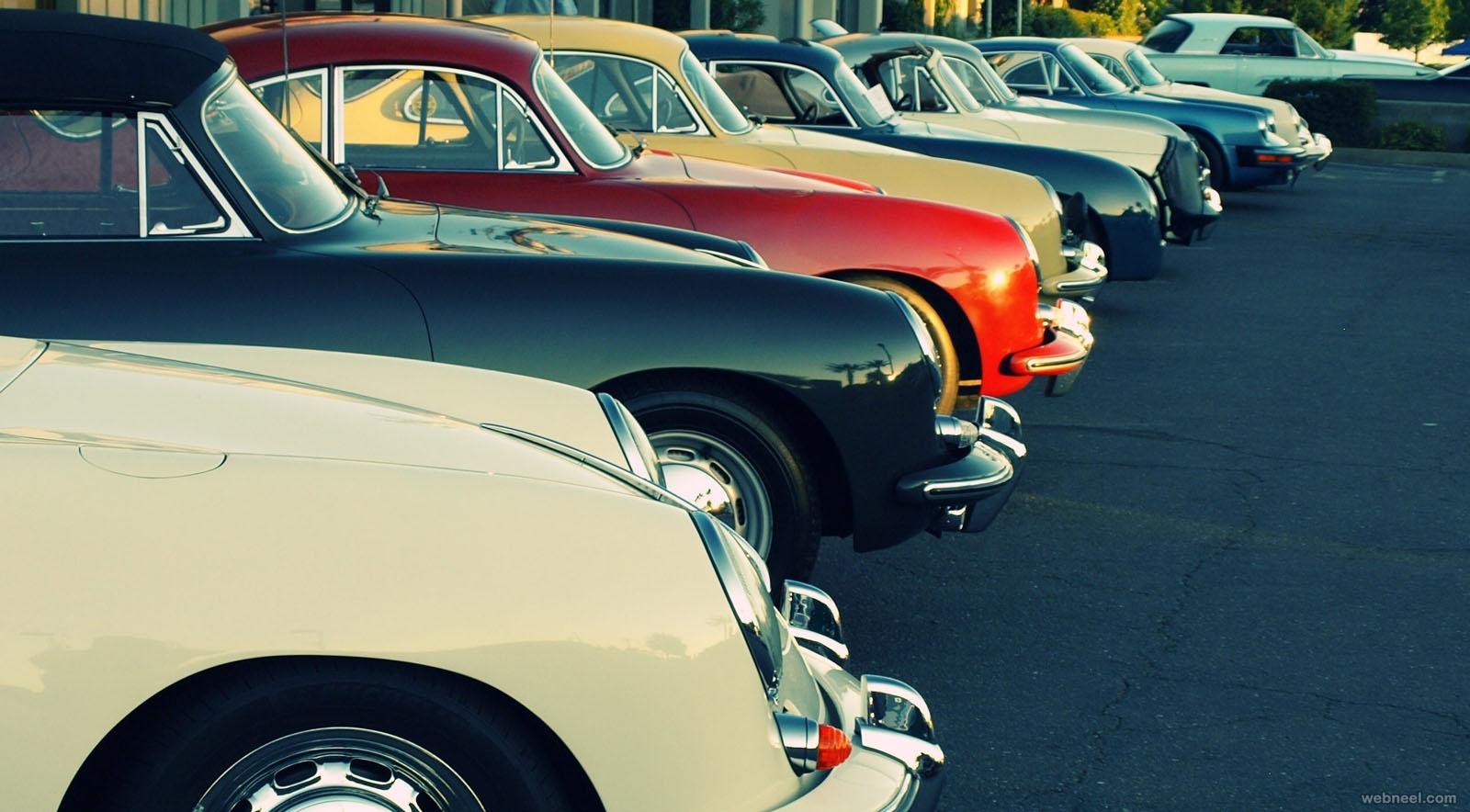 car vintage photography