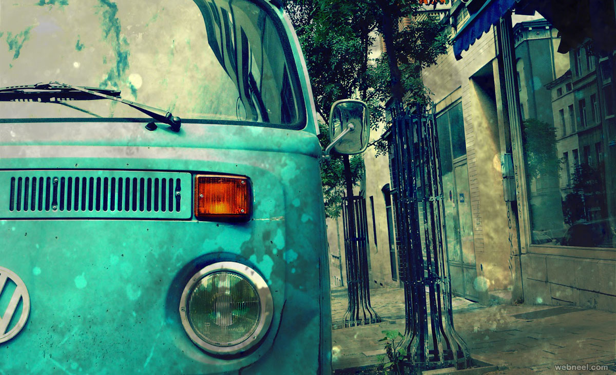 car vintage photography