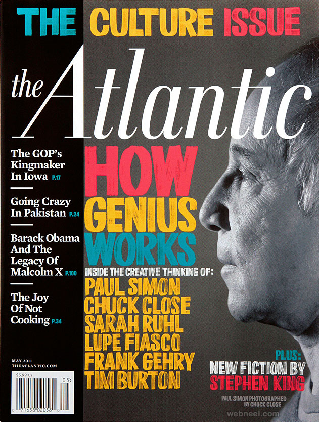 atlantic cover typography design by erikmarinovich
