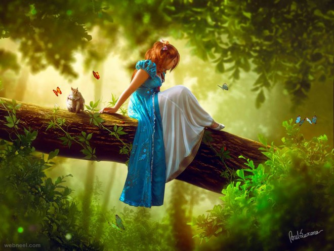 fantasy photoshop photo manipulation