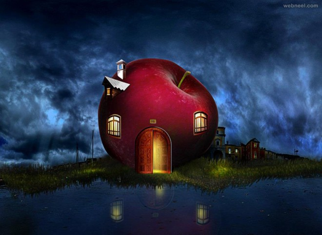 apple photo manipulation by anil saxena