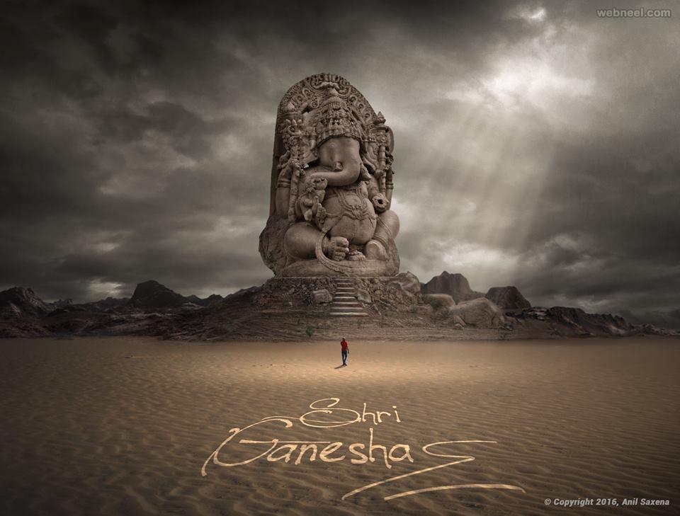 lord ganesh photo manipulation by anil saxena