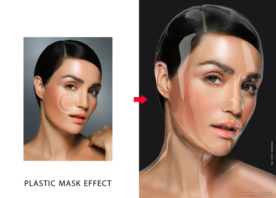 plastic effect photo manipulation by anil saxena