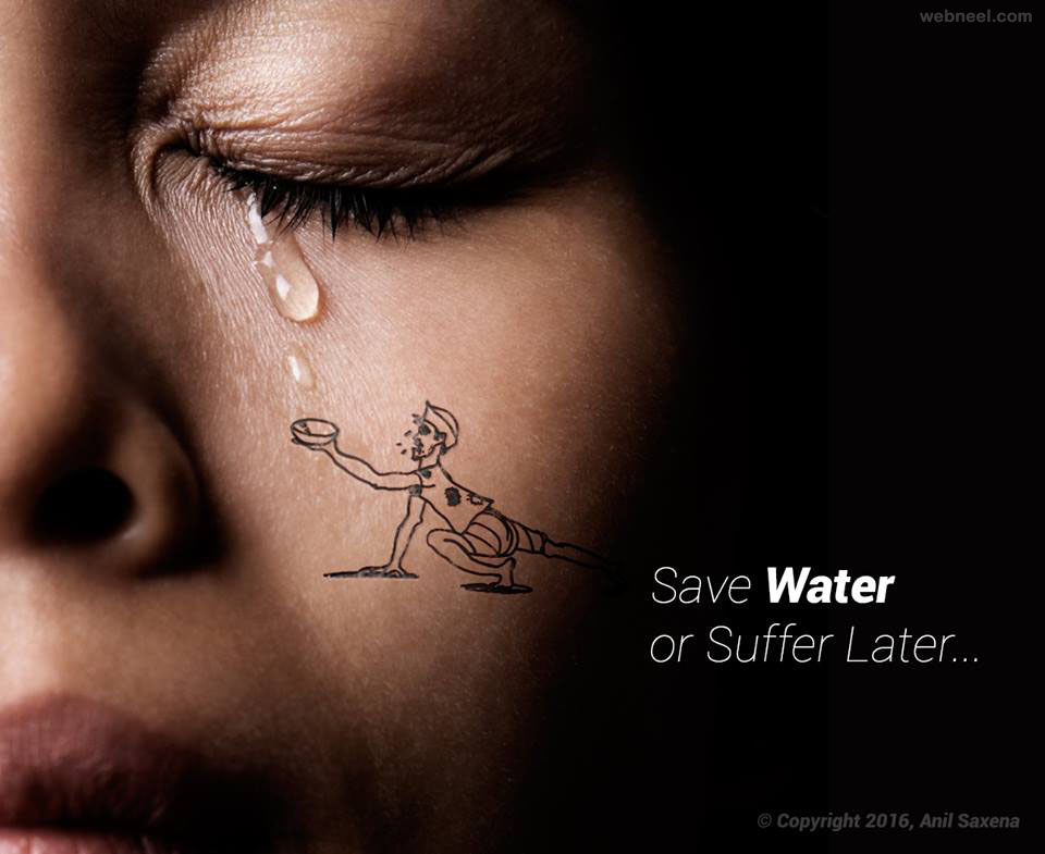 save water photo manipulation by anil saxena