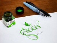 10-green-3d-calligraphy-by-tolga-girgin