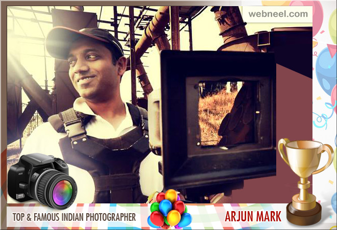 top indian famous photographer arjun mark