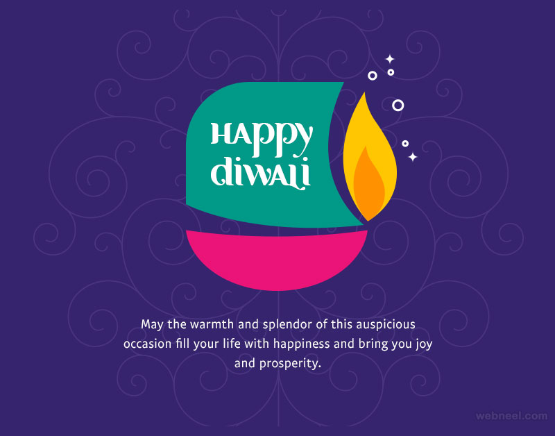 diwali greetings card by gokul