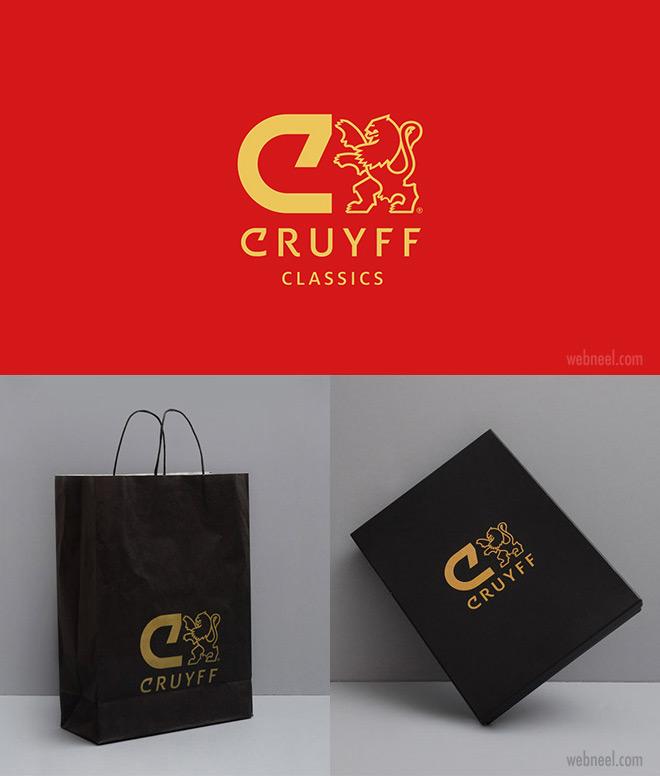 brand identity design cruyff