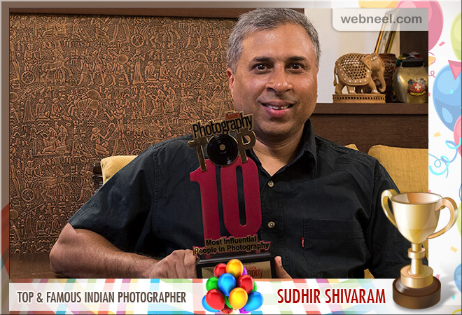 top indian photographer sudhir shivaram