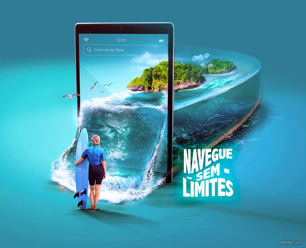 photo manipulation advertising mobile