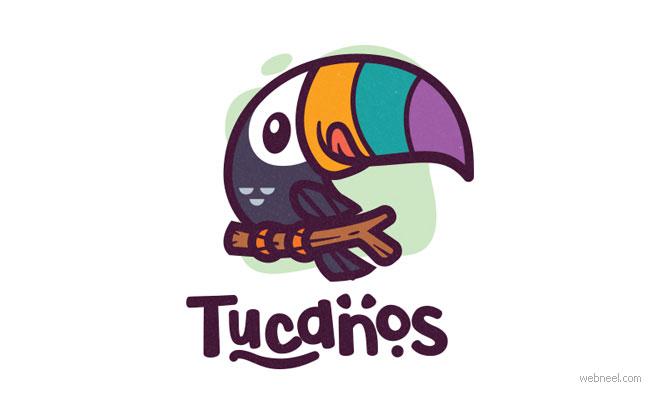 logo design bird by tucanos by carlospuentes