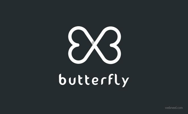 best logo design butterfly